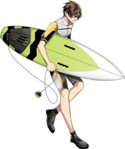 3 Menit Pertama dari Film Anime WAVE!! Surfing Yappe!! Pertama Diperlihatkan 6