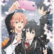 Anime Oregairu Season 3 Dijadwalkan Ulang untuk Bulan Juli 10