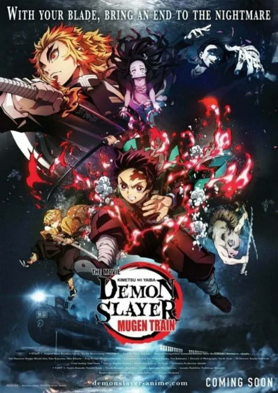 ODEX Akan Menayangkan Film Anime Kimetsu no Yaiba: Mugen Ressha-Hen di Indonesia 1