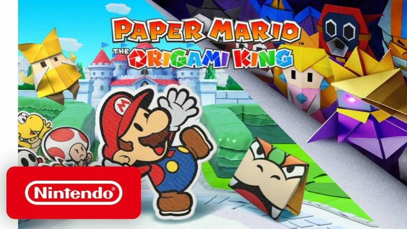 Game Paper Mario: The Origami King Diumumkan untuk Switch Pada Tanggal 17 Juli 1