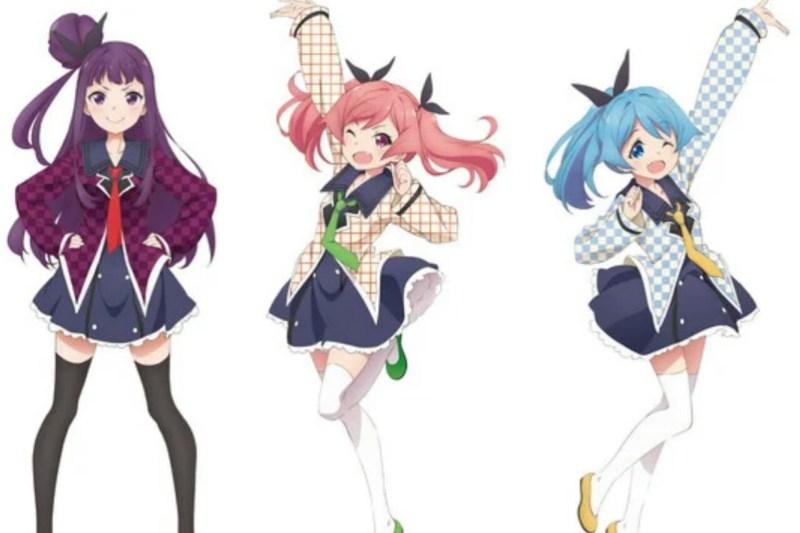 Anime Dropout Idol Fruit Tart Ungkap 3 Visual Karakter 1
