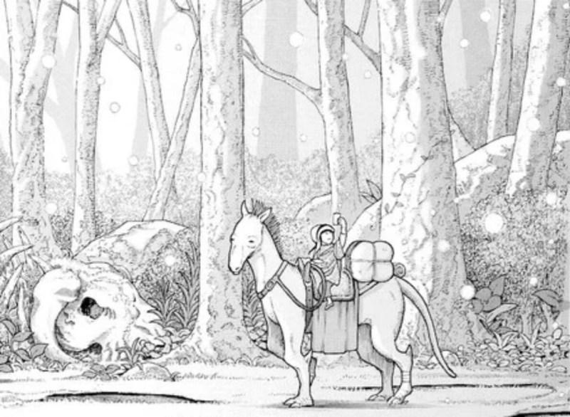 Manga Lady Law to Nanoka no Mori Karya Makoto Isshiki Hiatus Karena Kesehatan Sang Penulis 1