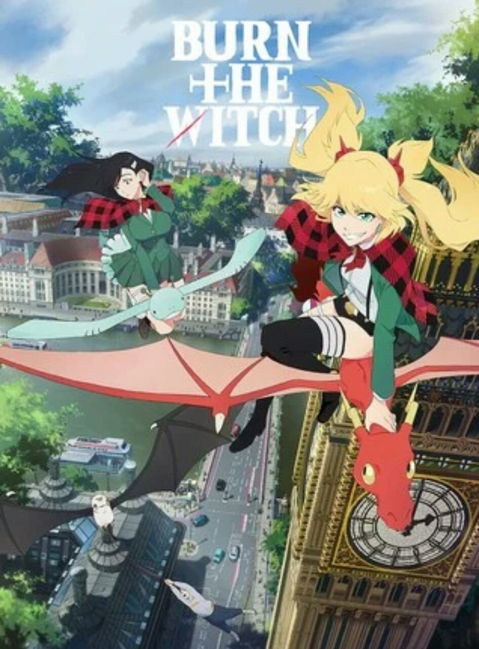 Saori Hayami Ikut Berperan dalam Anime Burn the Witch 1