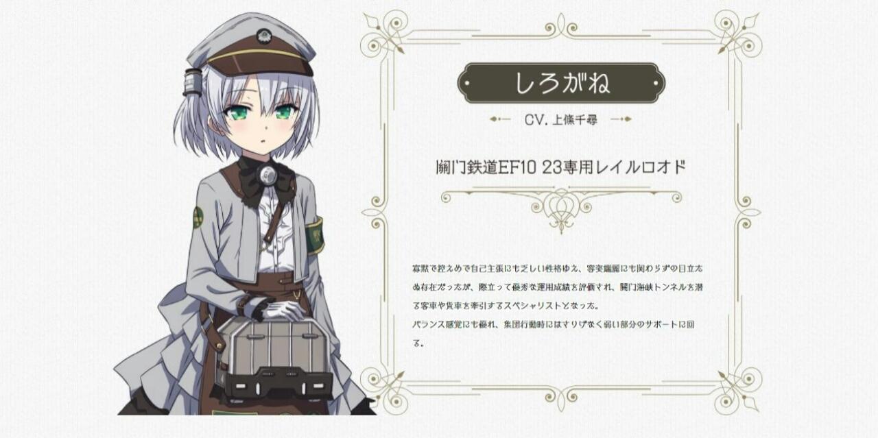 Anime Rail Romanesque Menggantikan Tenchim Dengan Chihiro Kamijō dalam Memerankan Shirogane 1
