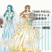 Nami dan Vivi Mengenakan Gaun Pengantin Dalam Kolaborasi Placole Wedding dengan One Piece 1