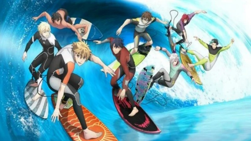 3 Menit Pertama dari Film Anime WAVE!! Surfing Yappe!! Pertama Diperlihatkan 1