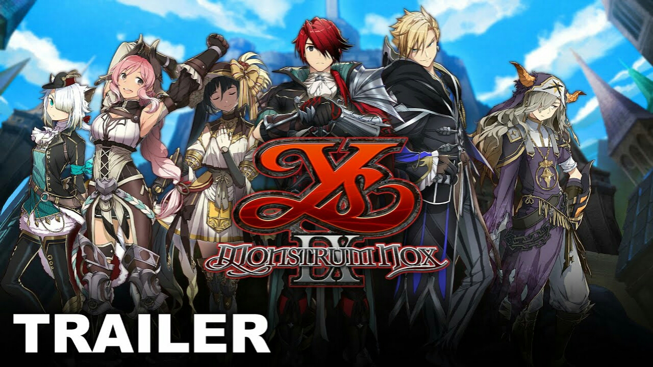 Trailer Game Ys IX: Monstrom Nox Memperlihatkan Para Karakter 1