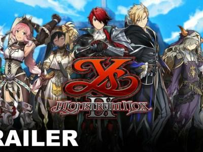 Trailer Game Ys IX: Monstrom Nox Memperlihatkan Para Karakter 32