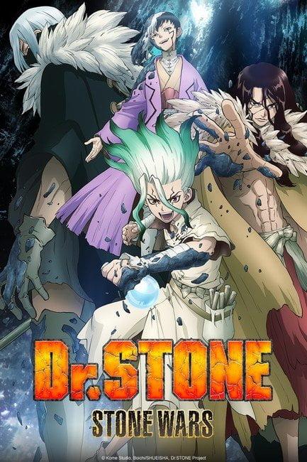 Crunchyroll akan Menayangkan Season Kedua Anime Dr. Stone pada Bulan Januari Nanti 2