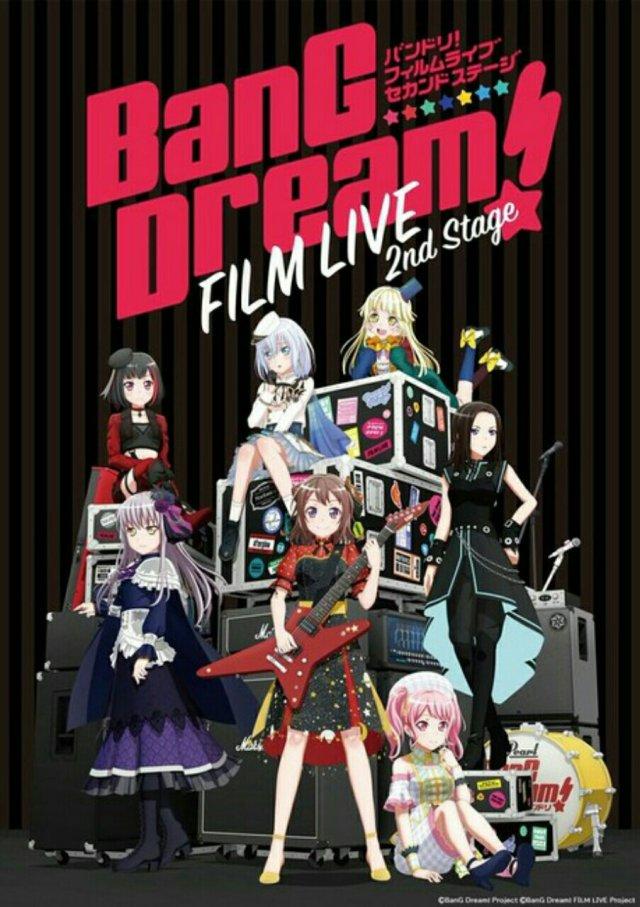 Film Anime BanG Dream! FILM LIVE 2nd Stage dan Episode of Roselia I: Yakusoku Ungkap Video Promosi 2