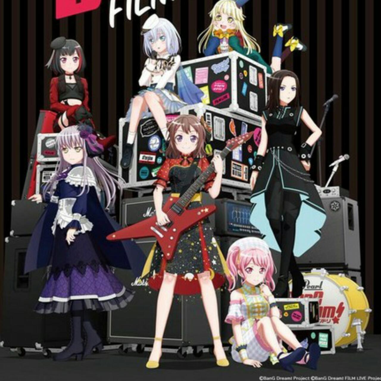 Film Anime BanG Dream! FILM LIVE 2nd Stage dan Episode of Roselia I: Yakusoku Ungkap Video Promosi 1