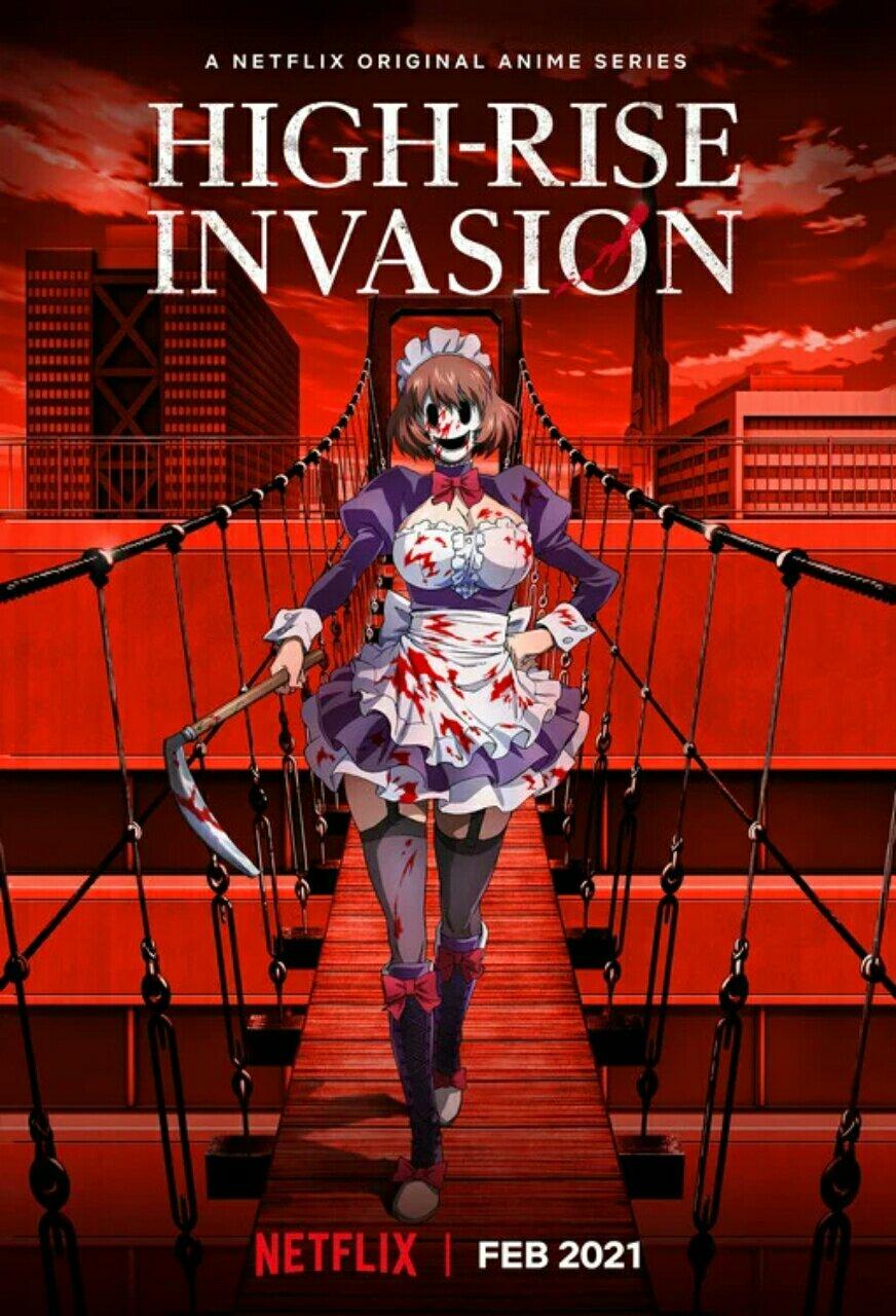 Manga High-Rise Invasion Dapatkan Seri Anime untuk Bulan Februari 2021 2