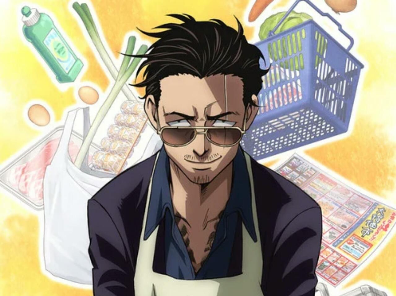 Manga The Way of the Househusband Dapatkan Seri Anime untuk Tahun 2021 yang Dibintangi oleh Kenjiro Tsuda 1