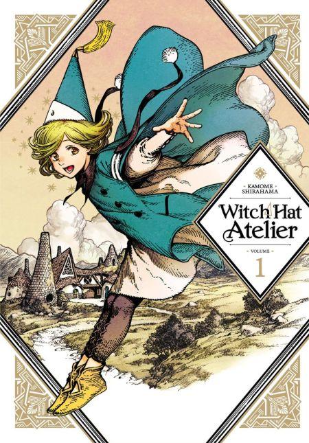 Witch Hat Atelier Memenangkan Manga Terbaik di Harvey Awards 3