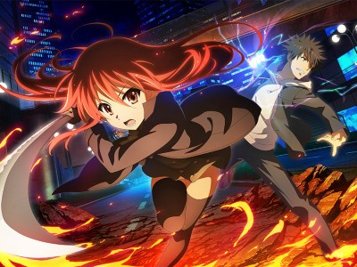 Rayakan 15 Tahun Animenya, Shakugan no Shana Berkolaborasi Dengan Game Ponsel Pintar To Aru Majutsu Index 1