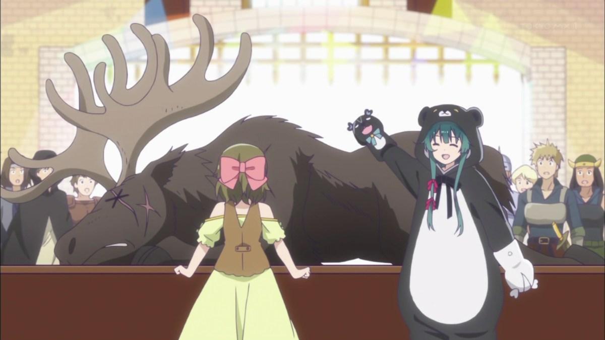 Nikmati Aroma Keringat Yuna Setelah Melepas Kostum Beruang Kuma Kuma Kuma Bear 10