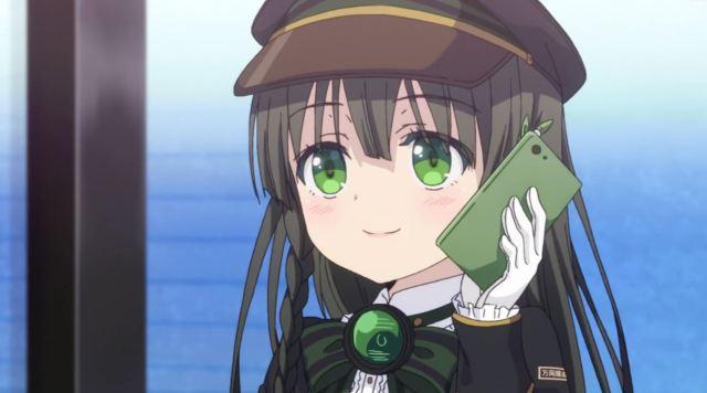 Siap-Siap Overdosis Melihat Gadis Kereta Moe Dari Anime Rail Romanesque Adaptasi Maitetsu 12