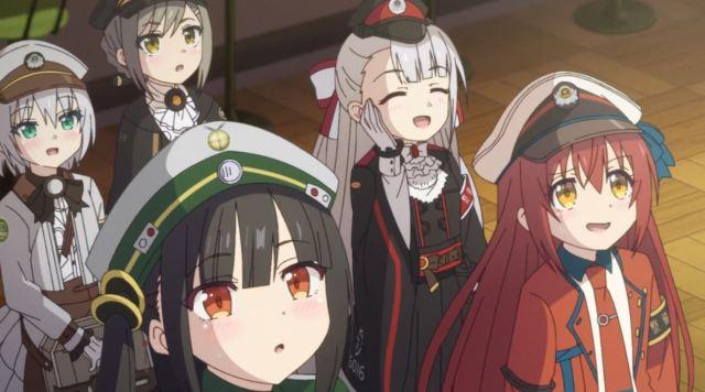 Siap-Siap Overdosis Melihat Gadis Kereta Moe Dari Anime Rail Romanesque Adaptasi Maitetsu 31