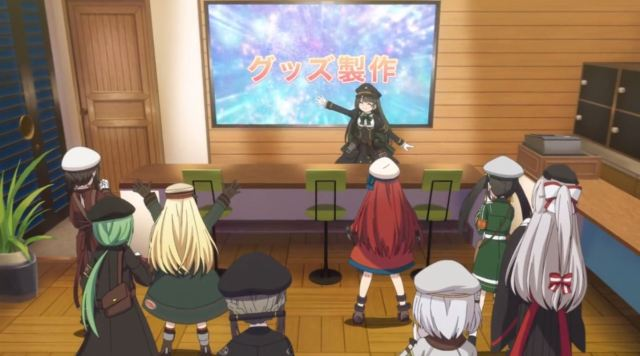 Siap-Siap Overdosis Melihat Gadis Kereta Moe Dari Anime Rail Romanesque Adaptasi Maitetsu 36