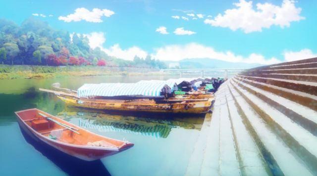 Siap-Siap Overdosis Melihat Gadis Kereta Moe Dari Anime Rail Romanesque Adaptasi Maitetsu 5