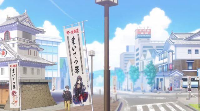Siap-Siap Overdosis Melihat Gadis Kereta Moe Dari Anime Rail Romanesque Adaptasi Maitetsu 8