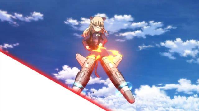 Nikmati Keindahan Cuplikan Pantsu Dari Anime Strike Witches Road to Berlin 15