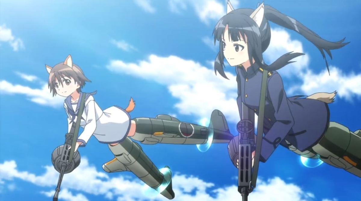 Nikmati Keindahan Cuplikan Pantsu Dari Anime Strike Witches Road to Berlin 36