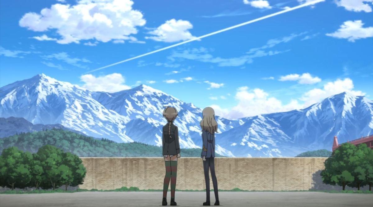 Nikmati Keindahan Cuplikan Pantsu Dari Anime Strike Witches Road to Berlin 75