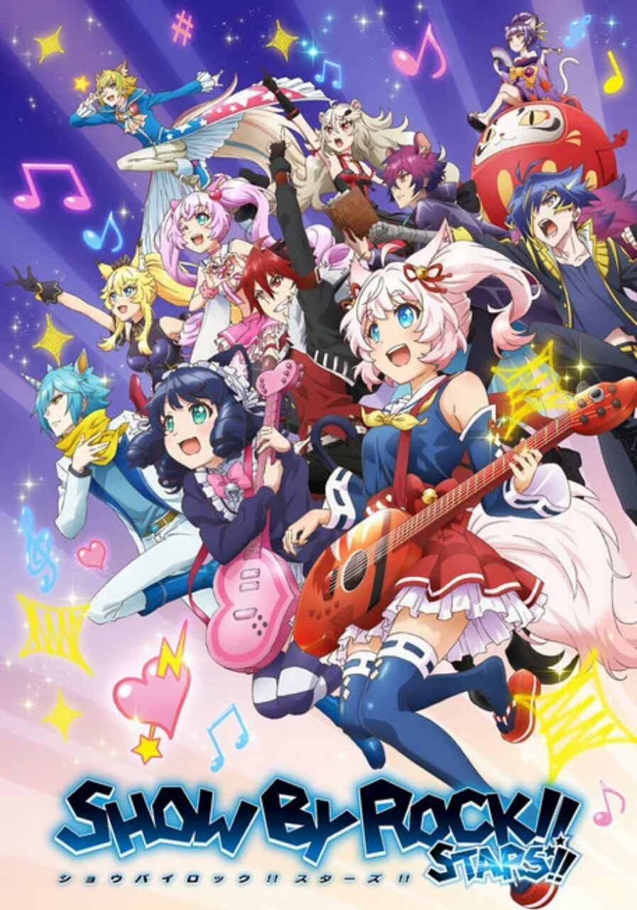 Video Promosi Anime Show by Rock!! Stars!! Perdengarkan Lagu Pembukanya 1