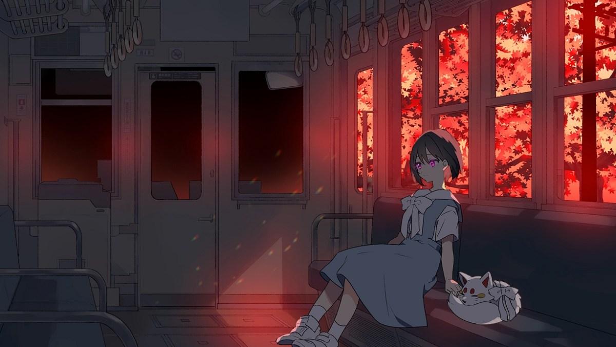 """Lofi Anime Chill / Hip Hop Radio """"KITSUNE-TSUKI"""", yang Terkadang Berubah Menjadi Merah Dengan Dedaunan Musim Gugur Seperti Kyoto Saat ini, Telah Memulai Siaran Langsung di YouTube! 2"""