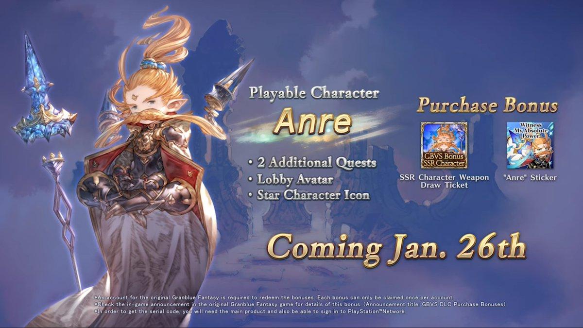 Granblue Fantasy:Versus Akan Rilis DLC Baru Pada 26 Januari 2021 2