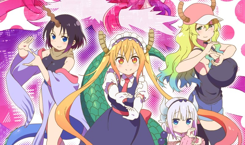 Musim ke-2 Anime Kobayashi-san Chi no Maid Dragon Siap Tayang pada Bulan Juli Mendatang 1
