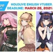 Agensi Virtual YouTuber hololive Mengumumkan Babak Kedua Audisi untuk hololive English 2
