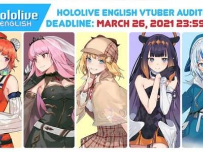Agensi Virtual YouTuber hololive Mengumumkan Babak Kedua Audisi untuk hololive English 9