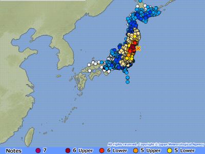 Gempa 7,3 SR Melanda Prefektur Fukushima, Jepang 51