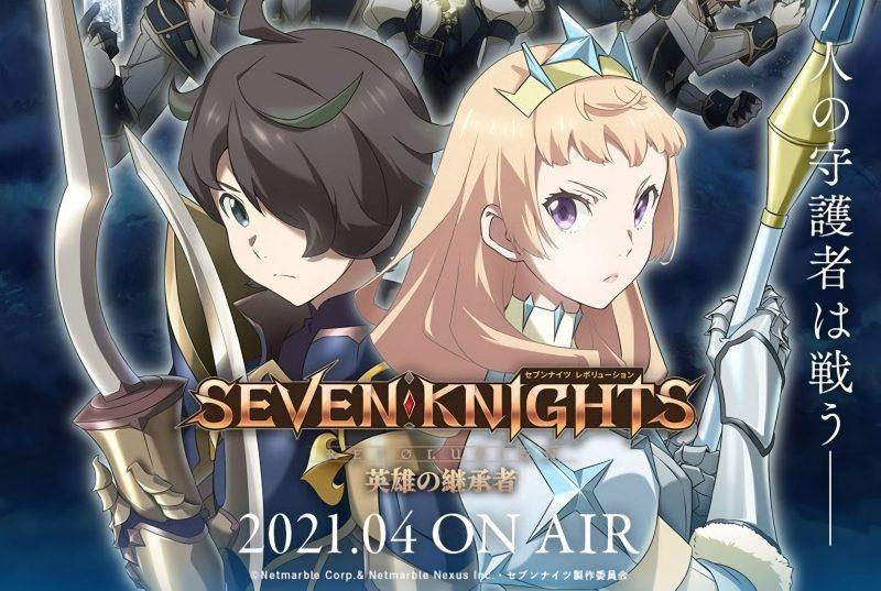 Anime TV Seven Knights Ungkap 12 Pemeran Tambahan Baru 1