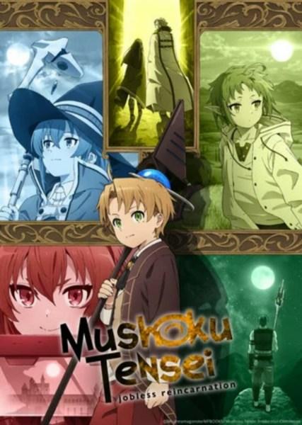 Anime Mushoku Tensei: Jobless Reincarnation Diperankan oleh Kenjiro Tsuda, Yuka Iguchi, Rikiya Koyama, Kengo Kawanishi 1