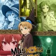 Anime Mushoku Tensei: Jobless Reincarnation Diperankan oleh Kenjiro Tsuda, Yuka Iguchi, Rikiya Koyama, Kengo Kawanishi 10
