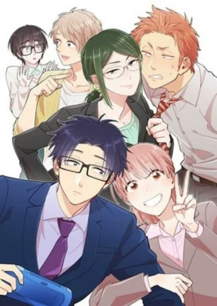 M&C! Melisensi Manga Wotakoi: Love is Hard for Otaku 1