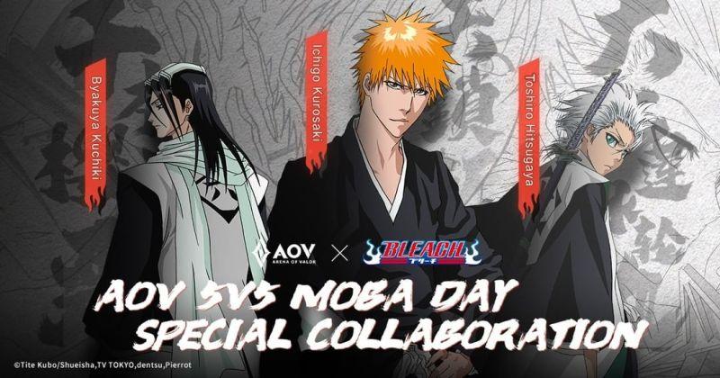 Garena AOV Umumkan Kolaborasi dengan Anime Bleach 1