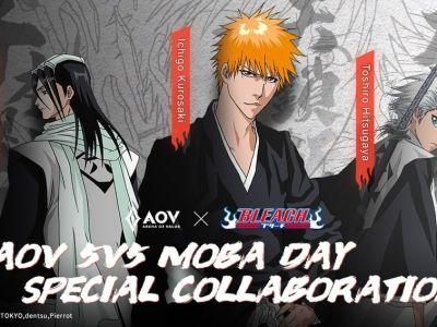 Garena AOV Umumkan Kolaborasi dengan Anime Bleach 22