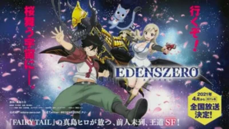 Video Promosi Anime Edens Zero Ungkap Seiyuu Lainnya, Lagu T.M.Revolution, dan Informasi Penayangan di Netflix 1