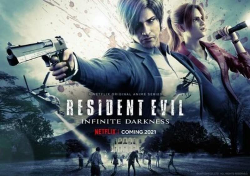 Video Anime CG Resident Evil: Infinite Darkness Menyoroti Claire 1