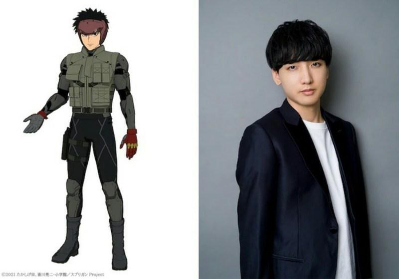 Anime Spriggan dari Netflix Diperankan oleh Chiaki Kobayashi sebagai Karakter Utama Yū Ominae 1