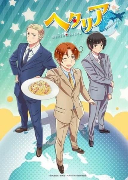 Anime Hetalia: World Stars Diperankan oleh Taku Yashiro 1