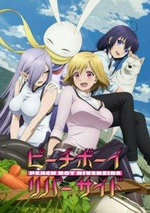 Anime TV Peach Boy Riverside Diperankan oleh Haruka Tomatsu 8