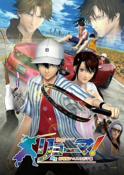 Film 3D CG Prince of Tennis Mengungkapkan 2 Versi yang Berbeda dan Seiyuu Lainnya 1