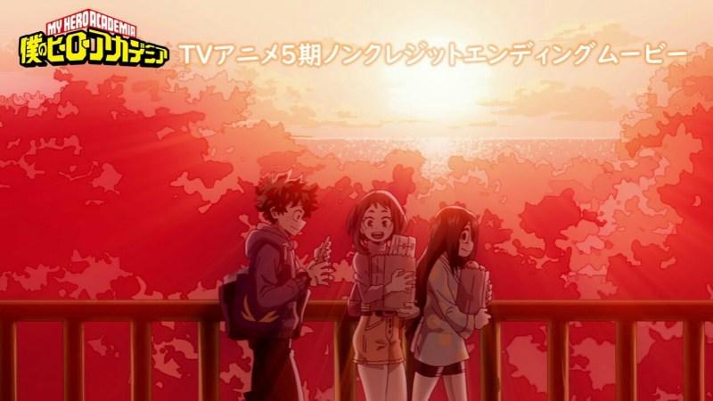 Anime My Hero Academia Diperankan oleh Sōichiro Hoshi dan Mengepos Video Penutup Bersih 1