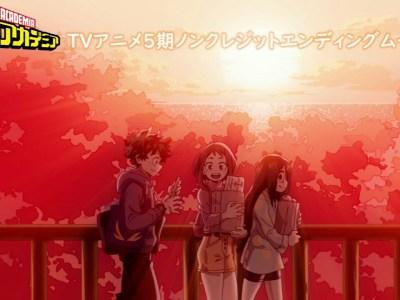 Anime My Hero Academia Diperankan oleh Sōichiro Hoshi dan Mengepos Video Penutup Bersih 37