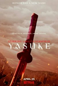 Anime Yasuke Mengungkapkan Seiyuu Jepang dengan Teaser Baru 5